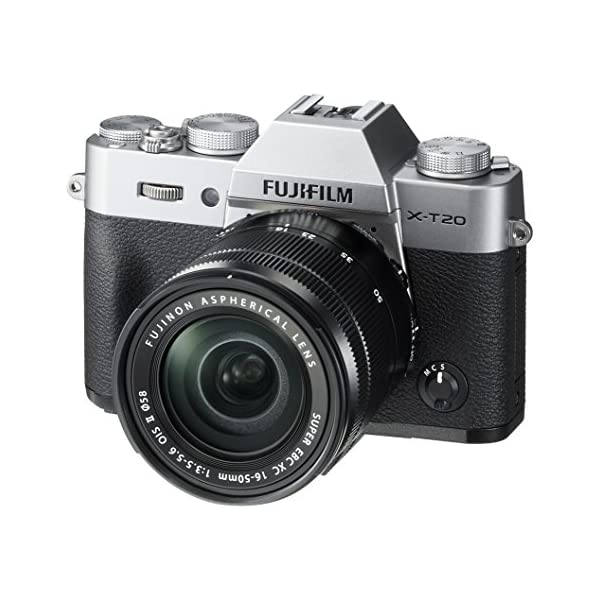 51mgoBGDrRL. SS600  - Fujifilm X-T20 Mirrorless Digital Camera w/XC16-50mmF3.5-5.6 OISII Lens-Silver