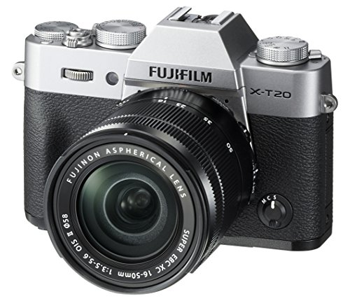 Fujifilm X-T20 Mirrorless Digital Camera w/XC16-50mmF3.5-5.6 OISII Lens-Silver from Fujifilm