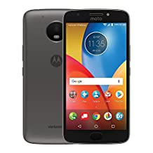 Motorola Moto E4 Plus, 5.5-inch LCD, 16GB, Unlocked (Code Provided) Smart Phone, Black, Android 7.1.1, Non-Retail Packaging, (4th Gen) 2017 Model XT1774PP, Works with all Canadian Networks, long-lasting 5000 mAh battery