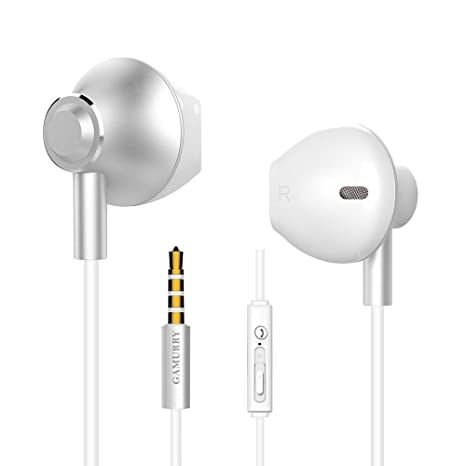 a00b8959b9b Ecouteurs - Anti-Bruit Ergonomique oreillette Filaire stéréo avec Micro et  Bouton de intégré contr