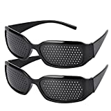 Fansport 2Pcs Vision Correction Glasses Vision Care Eyesight Improver Glasses