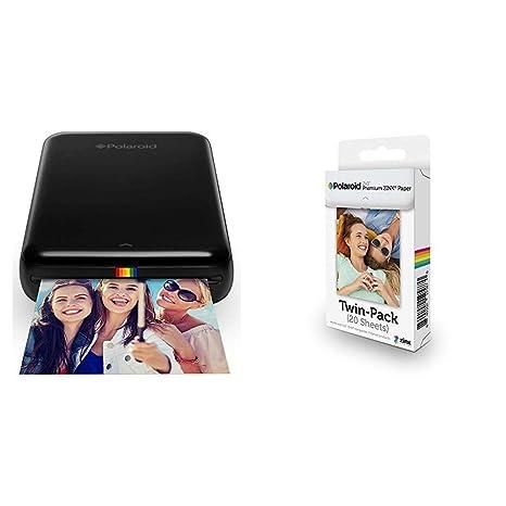 Polaroid ZIP + Pack de 20 Zink Paper: Amazon.es: Electrónica