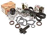 Evergreen TBK271HWPT Toyota Pickup 3.4 DOHC 5VZFE Timing Belt Kit Water Pump
