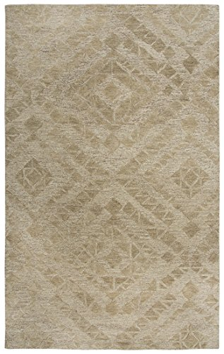 Rug Avenue Fifth - Rizzy Home FTHFA169B00120508 Fifth Avenue Hand-Tufted Area Rug, 5' x 8', Brown