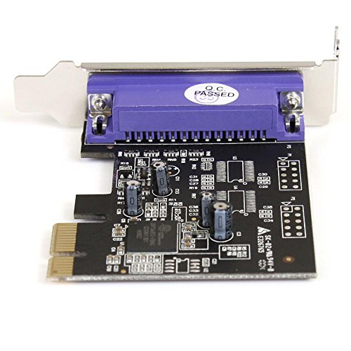 StarTech.com 1 Port PCI Express Low Profile Parallel Adapter Card PEX1PLP