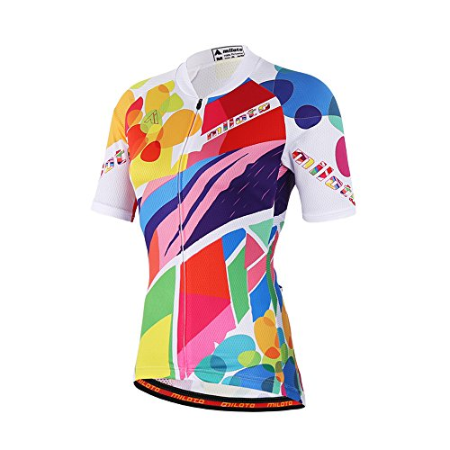 Uriah Women's Cycling Jersey Short Sleeve Reflective Doodles Size