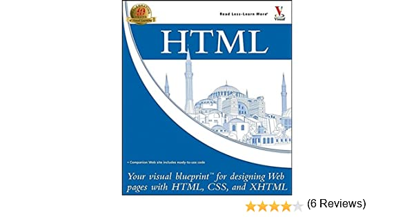 Html your visual blueprint for designing web pages with html css html your visual blueprint for designing web pages with html css and xhtml paul whitehead james h russell 9780764583315 amazon books malvernweather Images