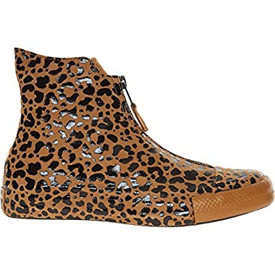 ef826fbe2854 Converse Leopard Print Leather High Top Trainers  Amazon.co.uk  Shoes   Bags