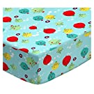 SheetWorld Fitted Portable / Mini Crib Sheet - Ocean Fish - Made In USA