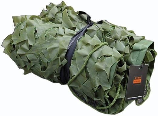 QIANGDA Verde Red De Camuflaje Ligero Bosque para Camping Militar ...