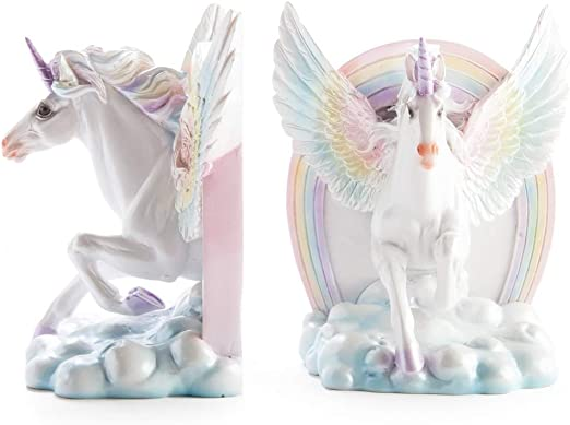Magical Unicorn Bookends