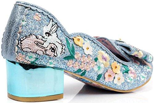 Pour Hop Bleu Bunny Escarpins Bleu Choice Femme Irregular xISzqOwI