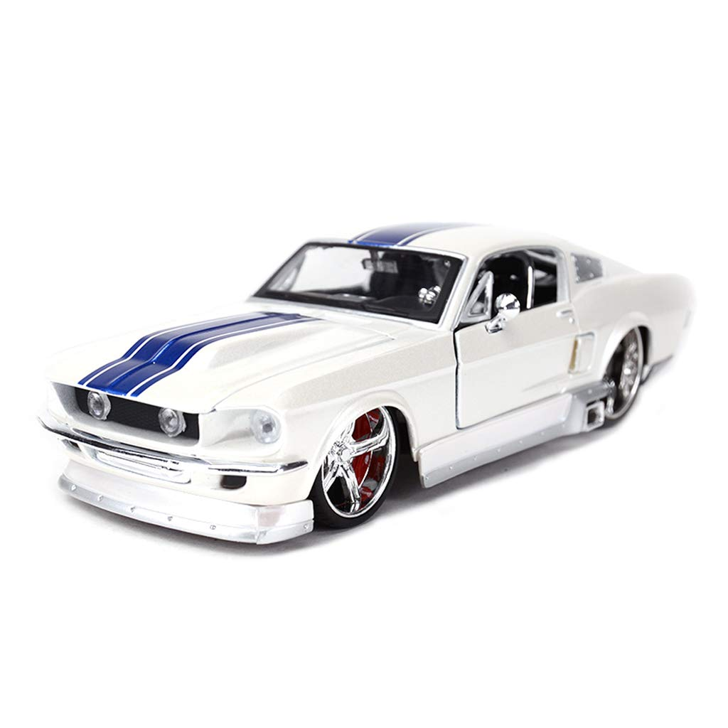 suministro de productos de calidad HTDZDX Coche Modelo 1 24 Ford Mustang GT GT GT simulación aleación de fundición a presión Juguetes Adornos colección de Coches Deportivos joyería 19.5x9x5.6 CM  envío gratuito a nivel mundial