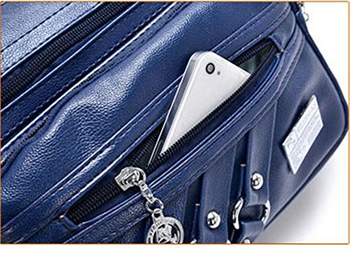 Bleu pour Sac JUND bleu femme bandoulière Bleu HqxaYUxwE