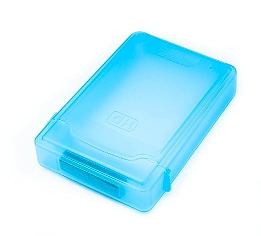 "23 opinioni per QUMOX 3.5"" HARD DISK DRIVE HDD PROTECTION STORAGE BOX CASE TANK BLUE"