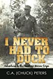 I Never had to Duck, C. a. (Chuck) Peters, 1450253547