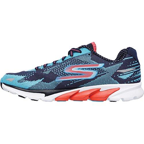 Shoes Run 2016 Women's Go Navy SS16 4 Skechers Running aqua YPx6Fqt