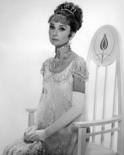 My Fair Lady Audrey Hepburn elegant portrait in chair 8x10 Promotional Photograph (My Fair Lady Memorabilia)