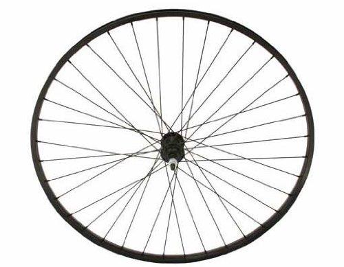 27'' x 1 1/4'' Alloy Free Wheel 14G Black. Bicycle wheel, bike wheel, 27'' bike wheel, 27'' bicycle wheel, fixed gear bike, track bike, bike part, bicycle part by Lowrider