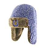 NFL Indianapolis Colts '47 Orca Sherpa Knit Beanie, One Size, Royal
