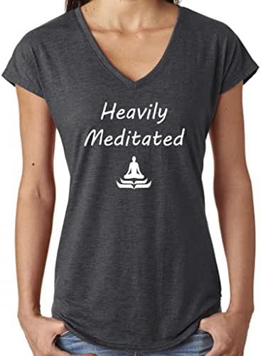Yoga Clothing For You Ladies Heavily Meditated V-neck Tee Shirt