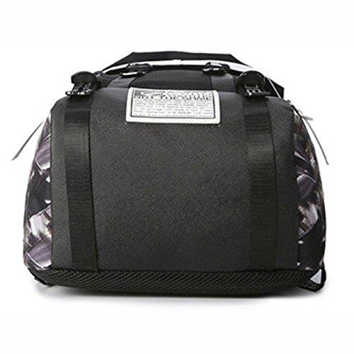Hombro DHFUD Camuflaje Paño Mochila Personalizado Oxford Bolsa De Purplecamouflage Bolso qv7vt