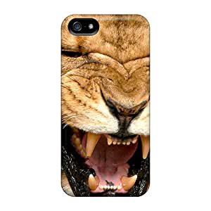 Ajephke Design High Quality Angry Lion Cover Case With Excellent Style For Iphone 5/5s