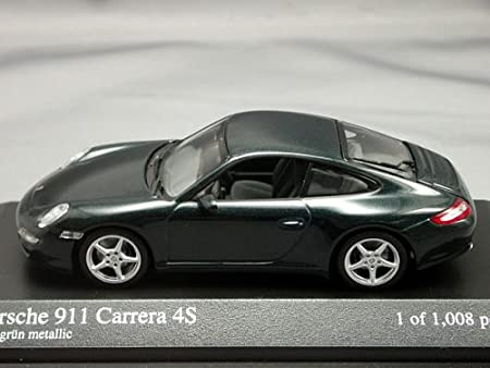 PORSCHE 911 CARRERA 4S COUPE, VERDE METALIZADO: Amazon.es: Juguetes y juegos