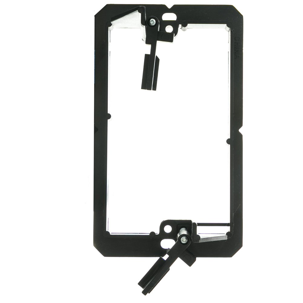 Low Voltage Single Gang Wall Plate Mounting Bracket ACL Nylon