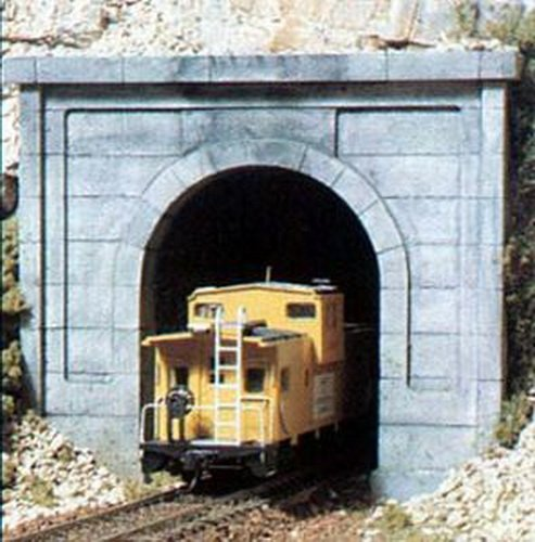Ho Scenics Woodland Tunnel Single - Concrete HO Tunnel Portal Woodland Scenics