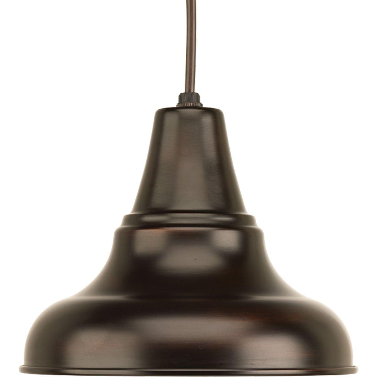 Progress Lighting P5535-20 Traditional/Classic 1-100W Med Hanging Lantern, Antique Bronze