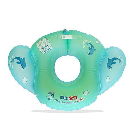 2-4 años de edad para niños piscina flotante anillo de la natación anillo de
