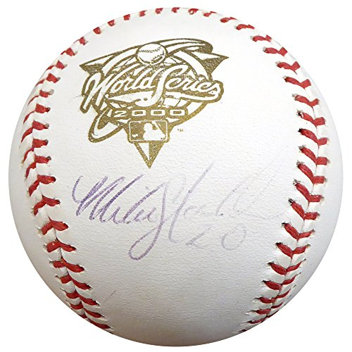 Mike Stanton Autographed Official 2000 World Series Baseball New York Yankees Beckett BAS #D20448 ()