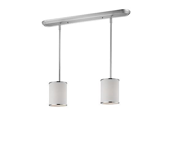 Amazon.com: Island Lighting - Lámpara de techo con 2 focos ...