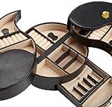 WOLF 280702 Heritage Yin Yang Jewelry Box, Black