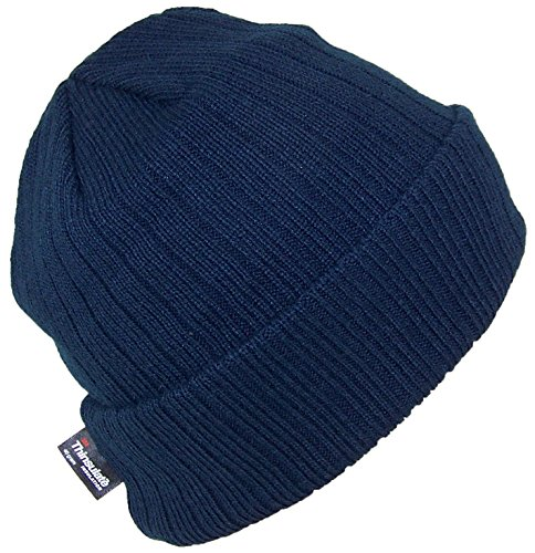 - Best Winter Hats 3M 40 Gram Thinsulate Insulated Cuffed Knit Beanie (One Size) - Navy