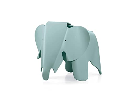 Originale eames elefante sgabello da vitra ice grey amazon