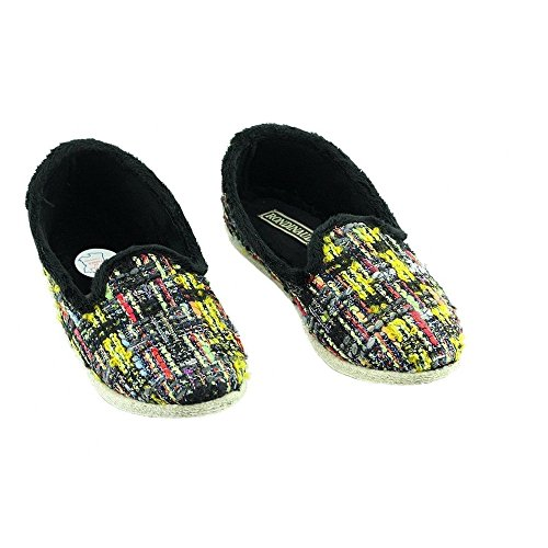 Chaussons Grand Ballerines Margival Velours Aag T noir Rondinaud Marque ud N Isotoner Femme p q6t0n1
