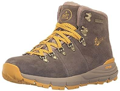 "Danner Women's Mountain 600 4.5"" Hiking Boot, Hazelwood/Yellow, 6 M US"