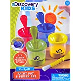 Discovery Kids No Spill Paint Pot and Brush Set