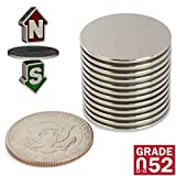 Neodymium Magnets N52 Super Strong – Pack of 12