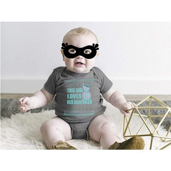 Amazon.com: Body para bebé para amante del perro, guantes ...