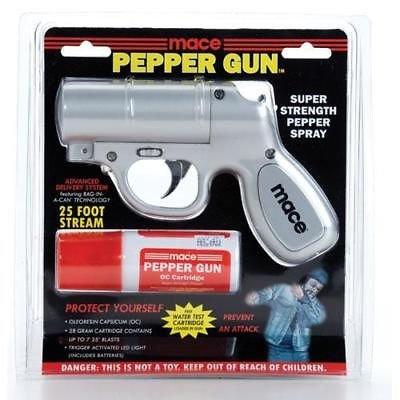 Mace Pepper Spray Gun With Led Light in US - 1