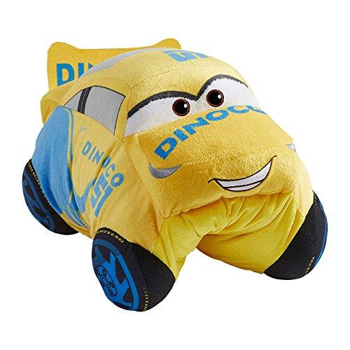 Pillow Pets DCP-NS-Cruz Pixar Cars 3 Disney, Cruz Ramirez, Stuffed Plush Toy, (Ramirez Merchandise)