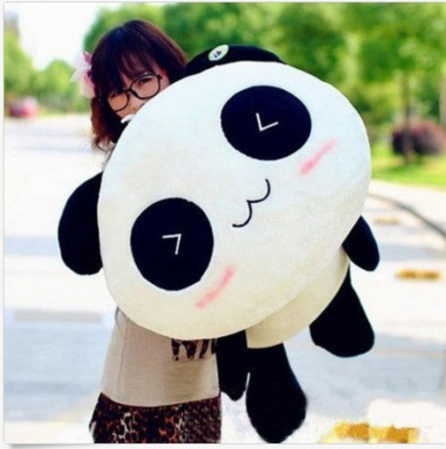 Kawaii Plush Doll Toy Animal Big Giant Panda Pillow Stuffed Bolster Gift (Kawaii Panda Plush)