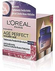 L'Oréal Paris nachtcrème Age Perfect Golden Age versterkende behandeling, geschikt voor rijpe huid, 50 ml