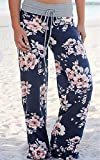 NEWCOSPLAY Women's High Waist Casual Floral Print