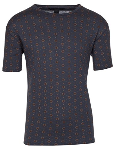 Marc by Marc Jacobs Men's Cotton Dalston Dot Print T-Shirt, Navy, - Marc Men Jacobs Shirts