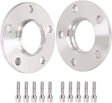 10MM Hubcentric Wheel Spacers For BMW 5x120 72.5 12x1.5