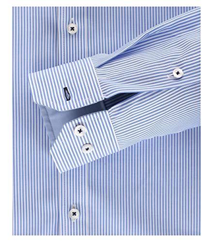Fit Business Chemise Homme Bleu Venti Body 101 blau Hemd TqEwWfnUR